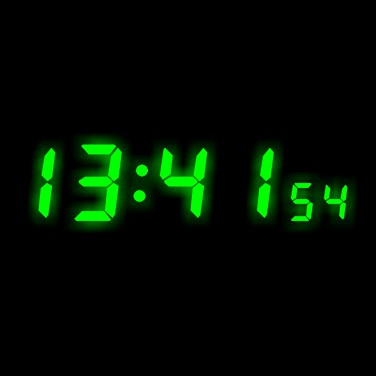 Clock Screen Saver 1.70 screenshot