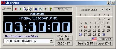 ClockWise 3.30b screenshot