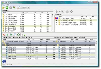 Clone Tools - Find Duplicate Files 2.02 screenshot