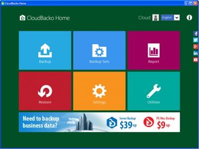 CloudBacko Home for Windows 1.11.0.0 screenshot