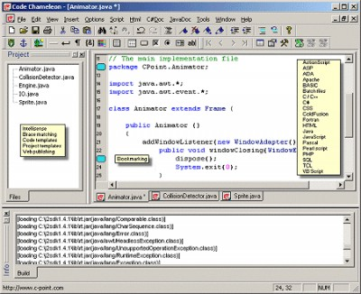 Code Chameleon 2.1 screenshot