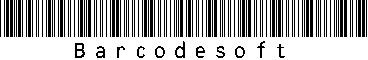 Code39 Full ASCII Barcode Package 1.1 screenshot