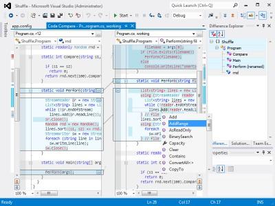 CodeCompare 5.0 screenshot