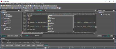 CodeLobster IDE for Linux 1.5.1 screenshot