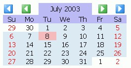CodeThatCalendar JavaScript Calendar 3.2.1 screenshot