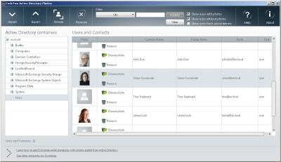 CodeTwo Active Directory Photos 1.1.1 screenshot