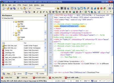 CodeX Writer 4.2.2.069 screenshot