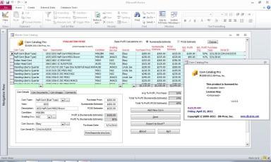 Coin Catalog Pro 2.7.1 screenshot