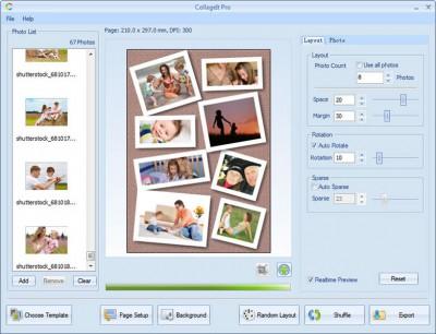 CollageIt 1.9.5.3 screenshot
