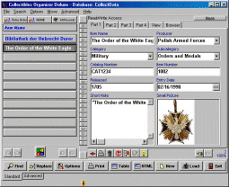 Collectibles Organizer Deluxe 4.12 screenshot