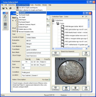 CollectorSoft 3.1 screenshot