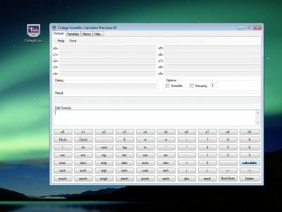 College Scientific Calculator 45 1.0.1.8 screenshot