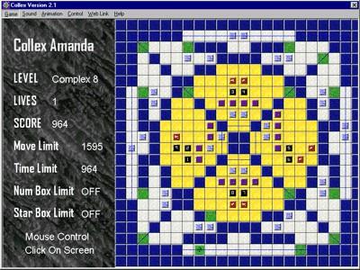 Collex Amanda 2.76 screenshot