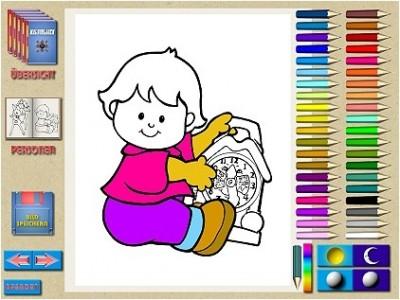 COLOREA - Das gro?e Computermalbuch! 1.1a screenshot