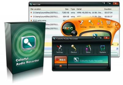 Colorful Audio Recorder 2.0.7 screenshot