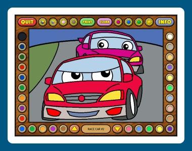 Coloring Book 11: Trucks 1.02.80 screenshot
