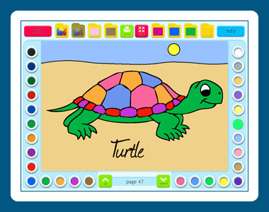 Coloring Book 3: Animals 5.00.83 screenshot