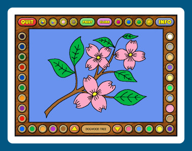 Coloring Book 4: Plants 4.22.75 screenshot