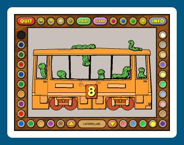 Coloring Book 6: Number Trains 4.22.75 screenshot