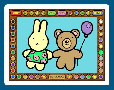 Coloring Book 7: Toys 4.22.98 screenshot