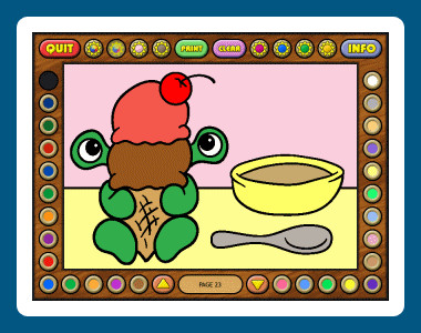 Coloring Book 9: Little Monsters 1.02.86 screenshot