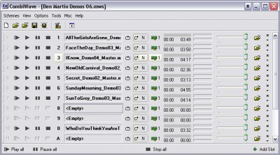 CombiWave Jingle Player PRO 4.4.77.47 screenshot