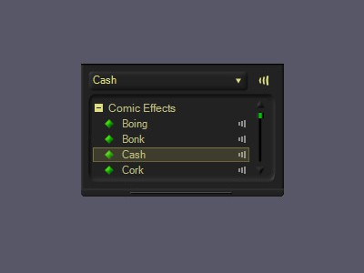 Comic Sounds - MorphVOX Add-on 2.1.1 screenshot