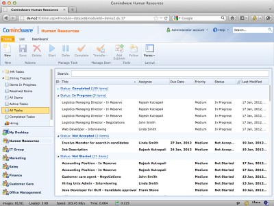 Comindware Task Management - Free 6149 screenshot