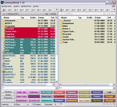 CommandPanel 2.5 screenshot