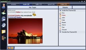 CommFort 5.93 screenshot