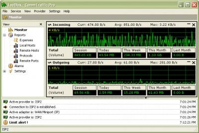CommTraffic 3.1 screenshot