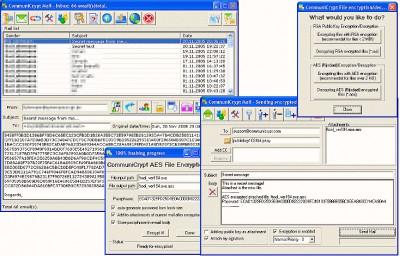 CommuniCrypt Mail 1.16 screenshot
