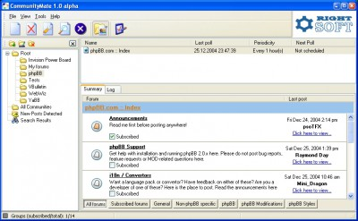 CommunityMate 1.1 screenshot