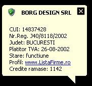 Company Validator 1.0.1 screenshot