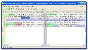 Compare Suite 3.0 screenshot