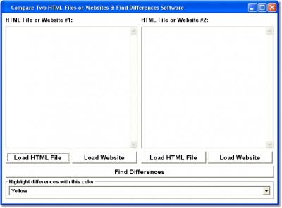 Compare Two HTML Files or Websites & Find Differen 7.0 screenshot