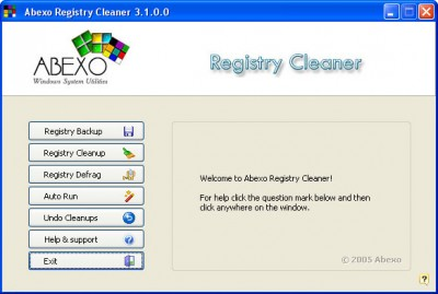 Complete Registry Cleaner 3.0 screenshot