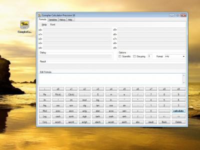 Complex Calculator Precision 18 1.0.1.1 screenshot