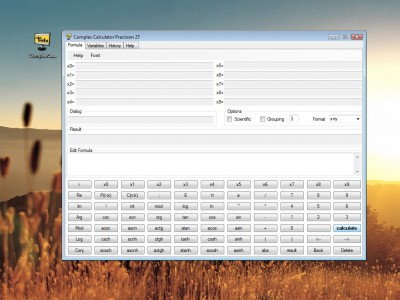 Complex Calculator Precision 27 1.0.0.9 screenshot