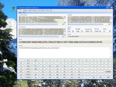 Complex Calculator Precision 36 1.0.1.1 screenshot