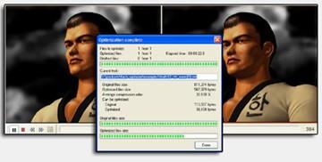 Compress SWF 1.25 screenshot