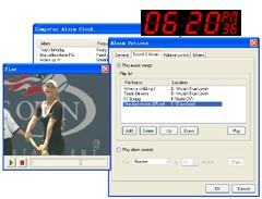 Computer Alarm Clock 2.13 screenshot