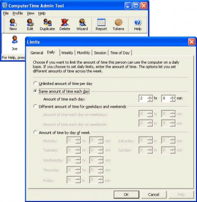 ComputerTime 4.1.0 screenshot