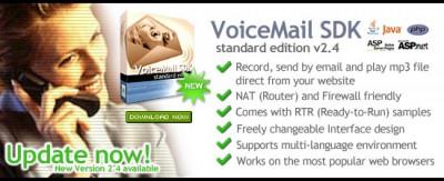 conaito VoiceMail SDK 2.4.1 screenshot