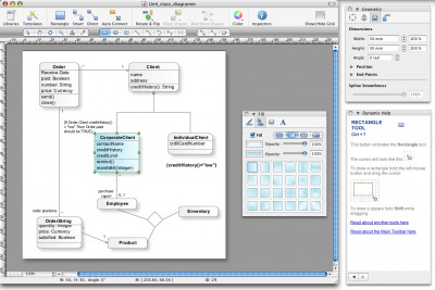 ConceptDraw for Mac 7.6 screenshot