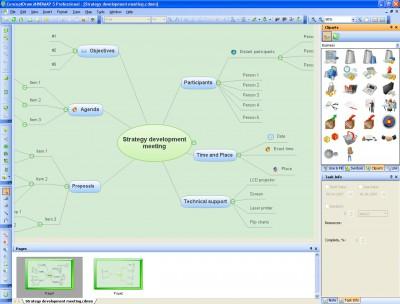 ConceptDraw MINDMAP Personal 5.4 screenshot