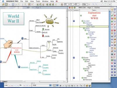 ConceptDraw MINDMAP Professional Mac 4.0 screenshot
