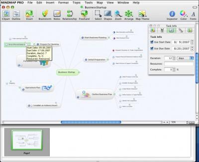 ConceptDraw MINDMAP Professional Mac 5.4 screenshot