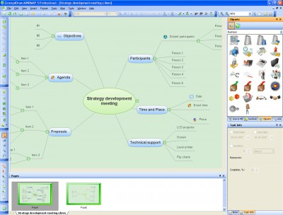 ConceptDraw MINDMAP Professional 5.4 screenshot