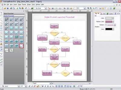 ConceptDraw 7.5 screenshot